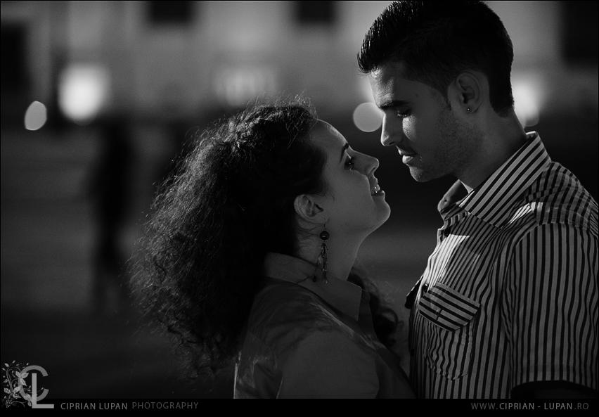 Diana si Razvan sesiune foto Sibiu