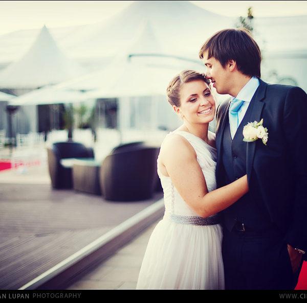 Mariage français à Bucarest Tullia et Nicolas