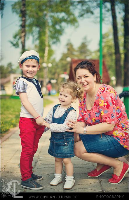 Copii: Antonia si Andrei!