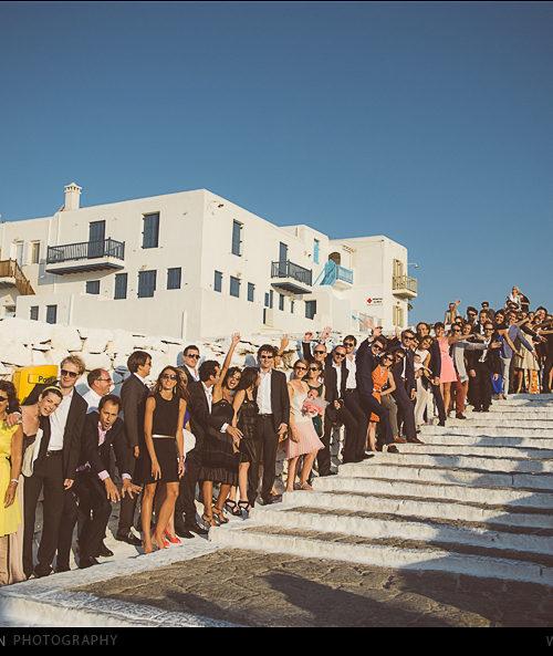 Ioana et Paul Catholic Ceremony Mykonos