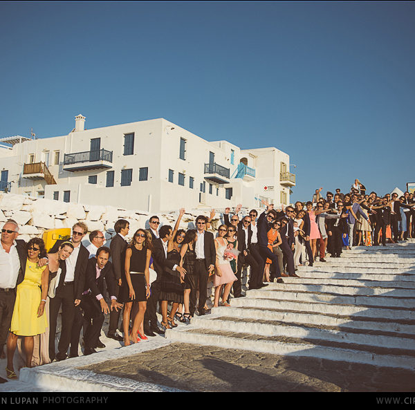Ioana et Paul Catholic Ceremony Mykonos